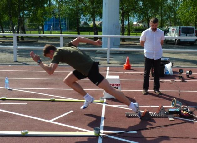 Optojump Next The Fastest Man In Europe Uses Optojump Next